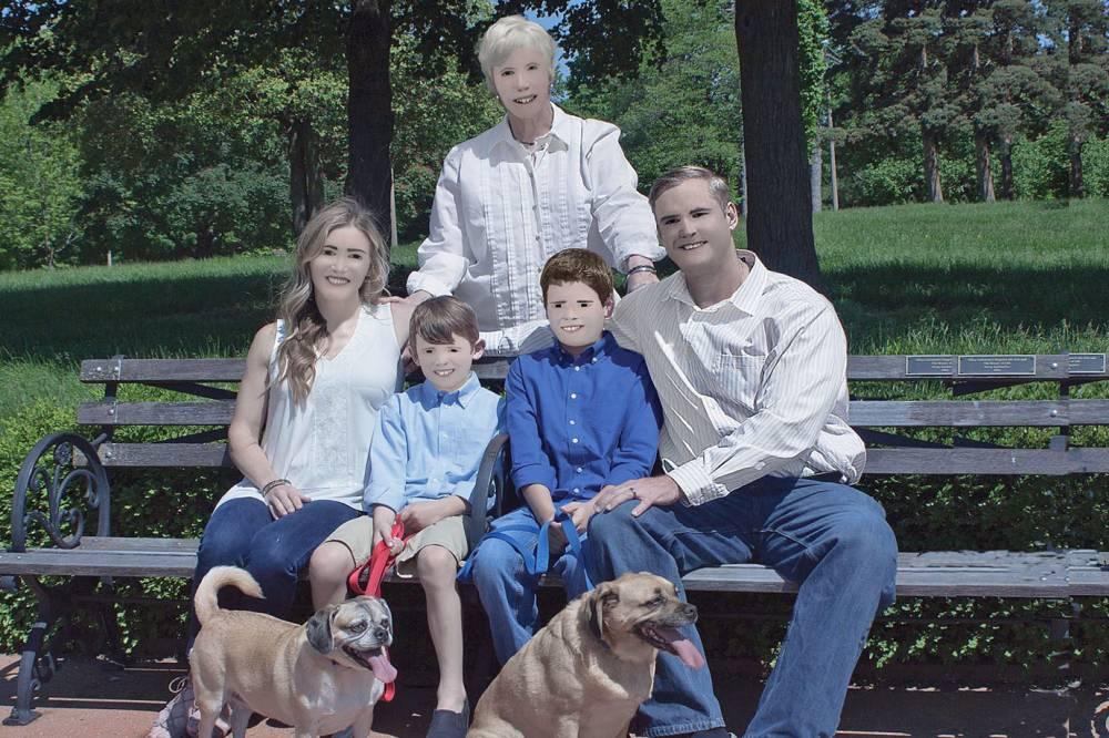 Ensaio de família americana